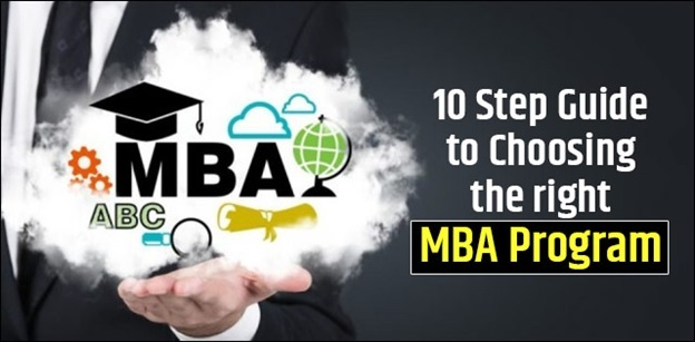 10 Step Guide To Choosing the Right MBA Program