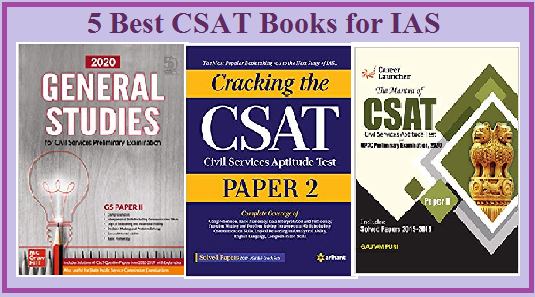 Best CSAT books for IAS