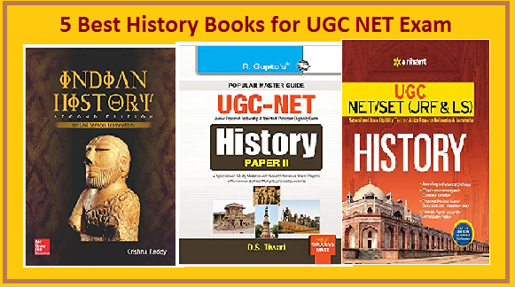 Best History books for UGC NET Exam