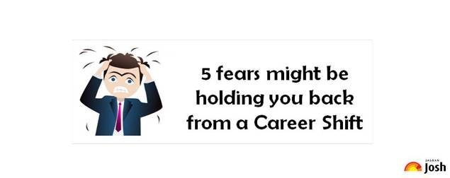 5 things that might be holding you back from a career shift