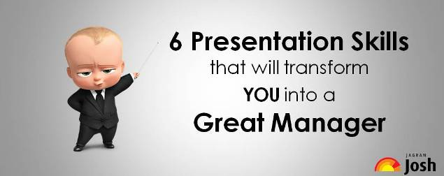 6 Presentation Skills that will transform you into a great Manager