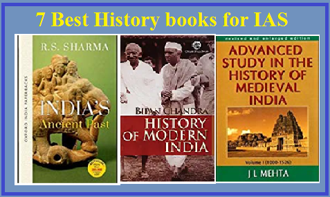 7 Best History books for IAS Mains and Prelims Exam