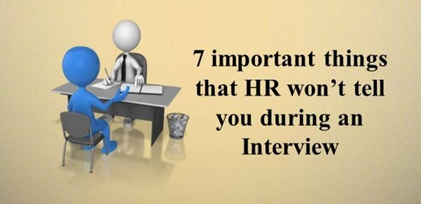 7 things that HR won't tell you