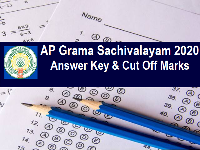 AP Grama Sachivalayam Answer Key 2020