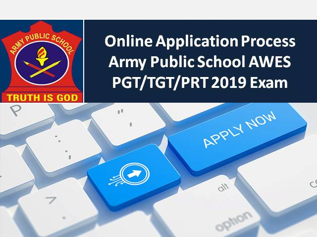 cheaper aec43 469bd Army Public School AWES PGT/TGT/PRT 2019: How to apply Online?