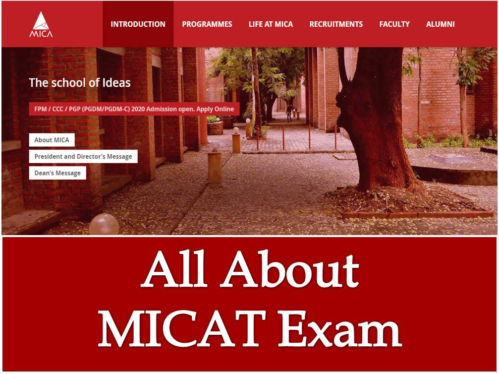 All About MICAT Exam