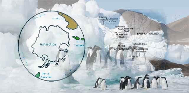 Important Geographical Facts about Antarctica in Hindi
