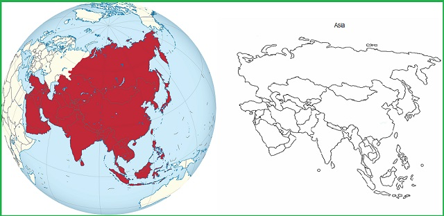 GK Questions and Answers on the Geography of Asia