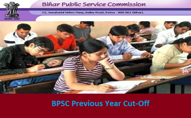 BPSC Prelims Previous Year's Category-wise Cut-Off
