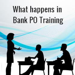 Bank PO training period after getting selected