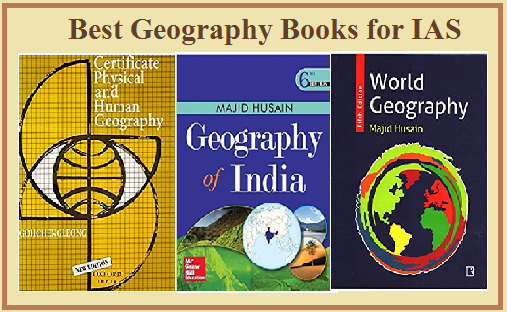 Best Geography Books for IAS