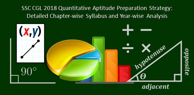 SSC CGL 2018 Quantitative Aptitude Preparation Strategy