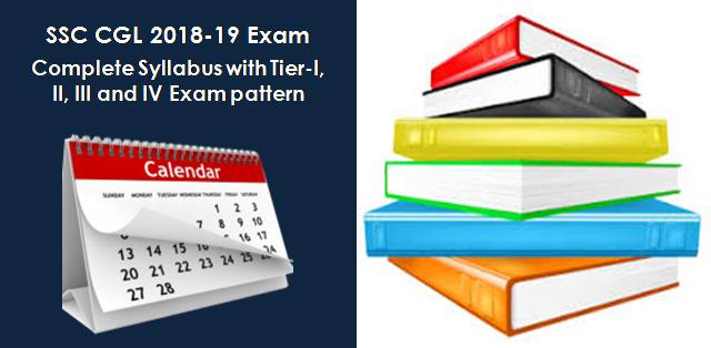 SSC CGL 2018-19 Exam Pattern and Syllabus