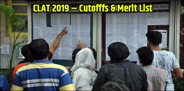 CLAT Cutoffs 2019 (Expected) – Know Category-wise NLUs Cut offs here