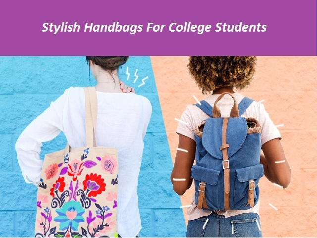 college hand bags for girls