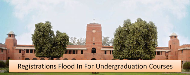 DU Admissions 2017: Registrations Flood In For Undergraduation Courses