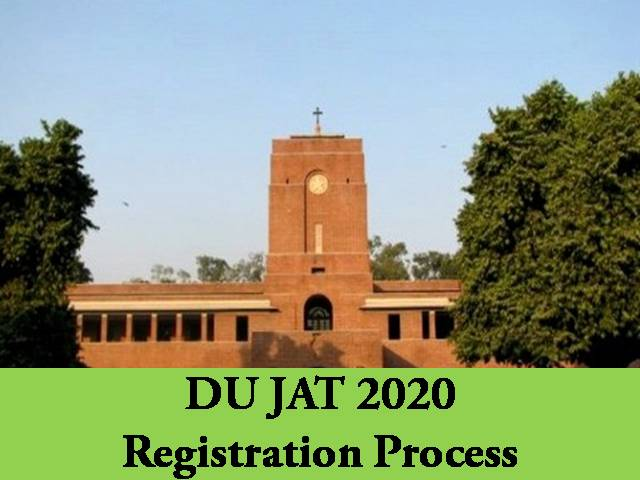 DU JAT Registration 2020