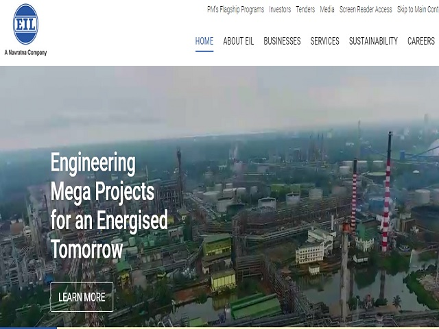 Engineers India Limited (EIL) General Manager (Legal) Post 2019