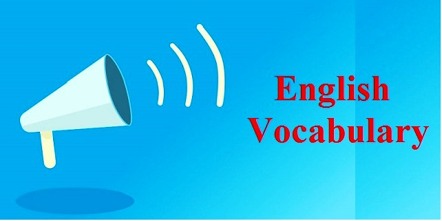 Important English Vocabulary for Competitive Exams