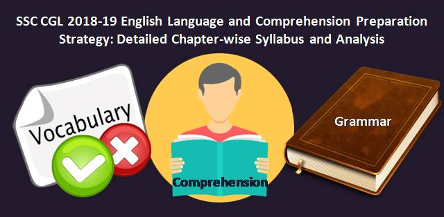 SSC CGL 2018-19 English Language and Comprehension Preparation Strategy