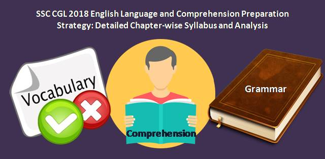 SSC CGL 2018 English Language and Comprehension Preparation Strategy