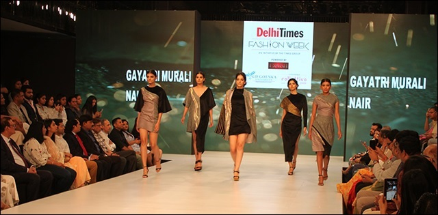 Gd Goenka School Of Fashion And Design Showcased Gd Goenka Collettivo 2019 At Times Fashion Week