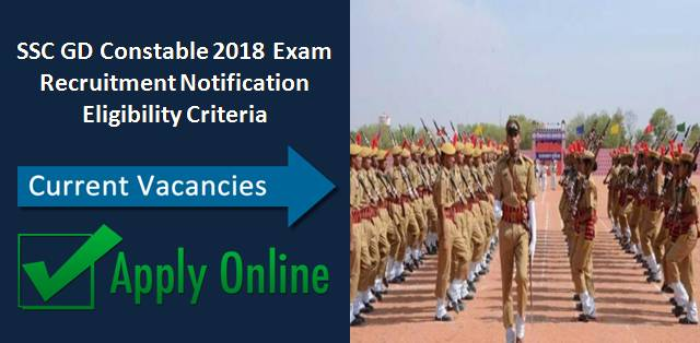 SSC GD Constable 2018: Exam Date, Vacancies, Eligibility Criteria, Exam Pattern, Syllabus & Cut-Off