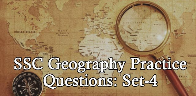 ssc gk geography questions