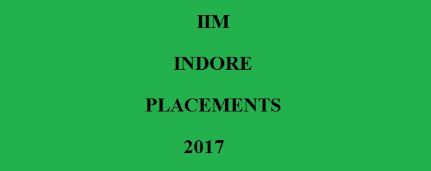 IIM INDORE PLACEMENT