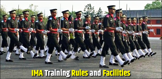 Indian Military Academy (IMA): Training Rules and Facilities