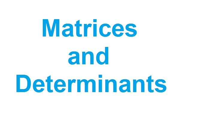 Important Questions and Preparation Tips - Matrices and Determinants