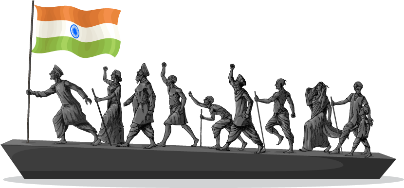 Timeline of Indian Freedom Movement from 1885 to 1947