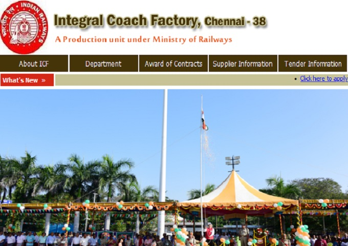 Integral Coach Factory Jobs