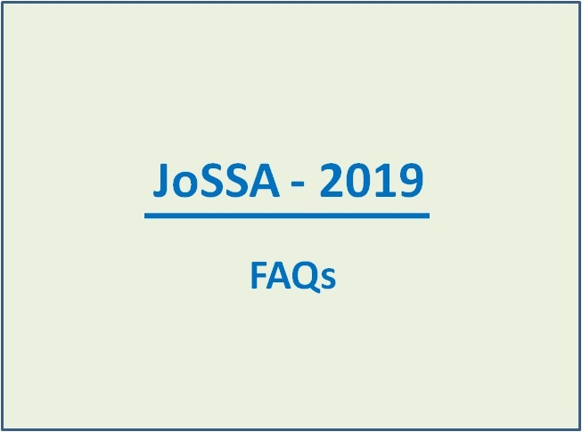 JoSAA Counselling 2019: Frequently Asked Questions (FAQs)