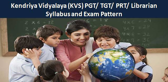 KVS 2018 Syllabus and Exam Pattern