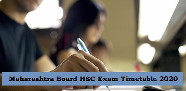 Maharashtra Board HSC Exam Timetable 2020 Released: Download MSBSHSE Class 12th Datesheet