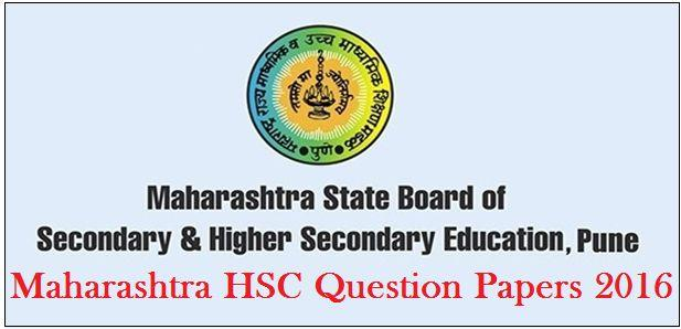 Maharashtra Board HSC Question Papers