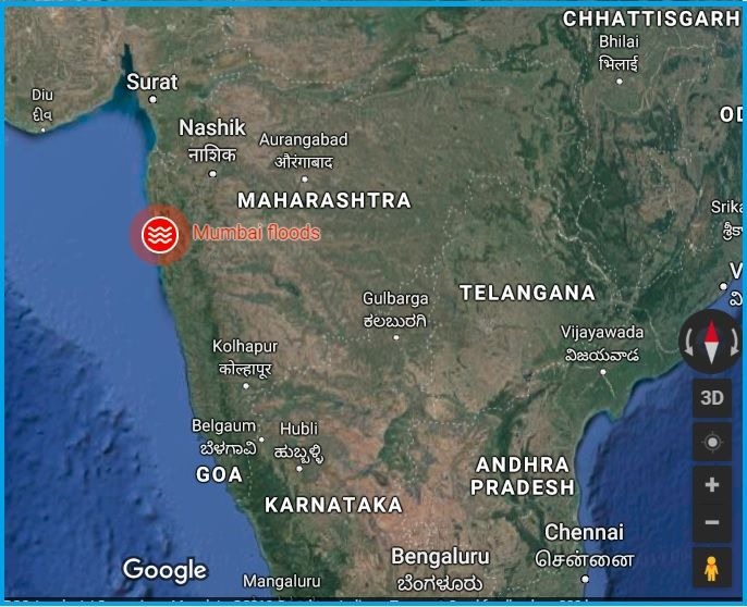 Mumbai Rains Updates: Check Helpline Numbers & How to Report ... on nasa flood map, google listing, live flood map, geographic information system flood map, world flood map, search flood map, google scholar, google property search, al gore flood map,