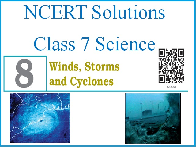 NCERT Solutions for Class 7 Science: Chapter 8 - Winds