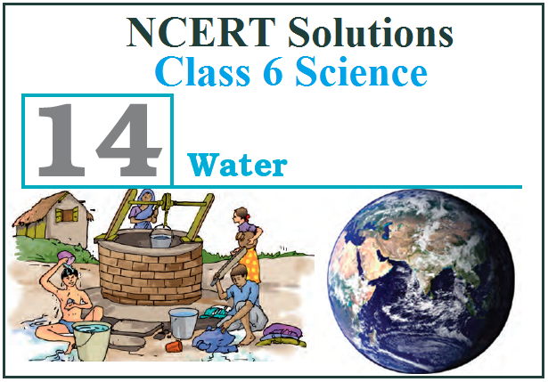 NCERT Solutions for Class 6 Science Chapter 14: Water