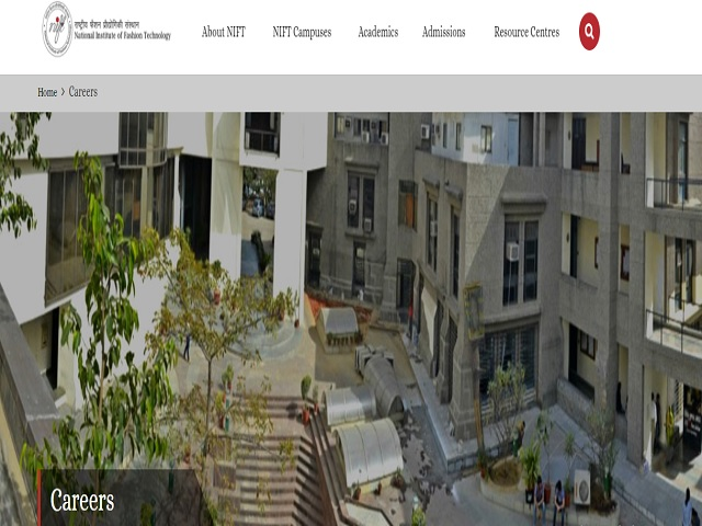 Nift Recruitment 2020 Apply Online For 18 Non Teaching Posts