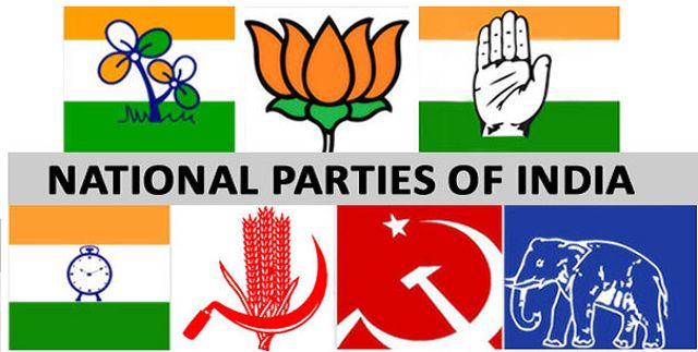 List of All the Political Parties in India India Political Party State Maps on india political map 2014, india political parties, india voting,