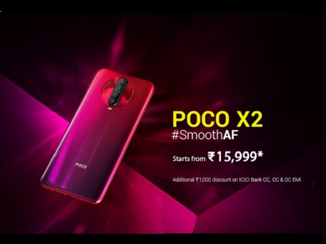 Poco X2 with Snapdragon 730G Chipset Launched in India at Rs 15999