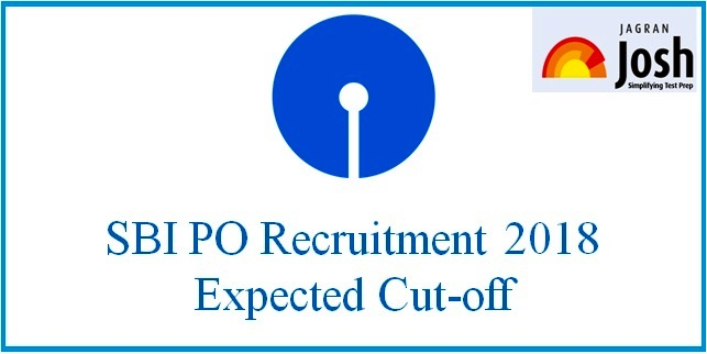 SBI PO Cut-off 2018