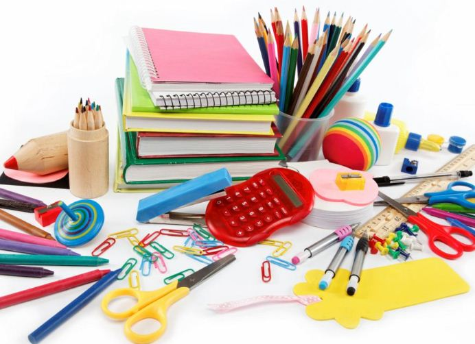 Common stationery for students| School