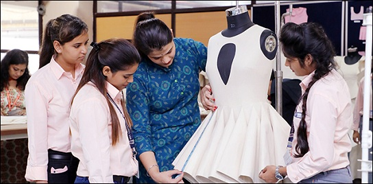 Create Magic With Colors Shapes And Designs Pursue Fashion Designing Course At Sgt University