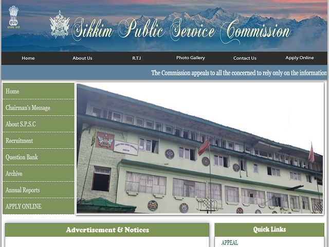 Sikkim Public Service Commission (SPSC) Mechanic Grade-II Posts 2020