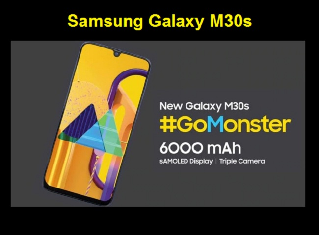 Samsung Galaxy M30s The Beast With 6000 Mah Battery Available At