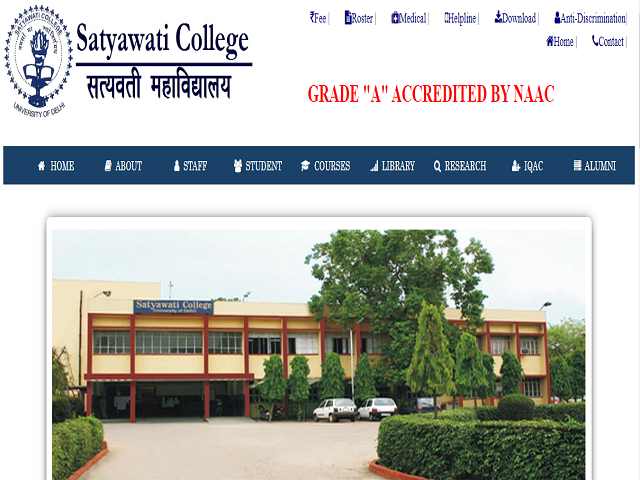 University of Delhi (DU) Principal (Satyawati College) Posts 2019