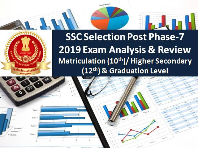 SSC Selection Post Phase-7 2019 Exam Analysis